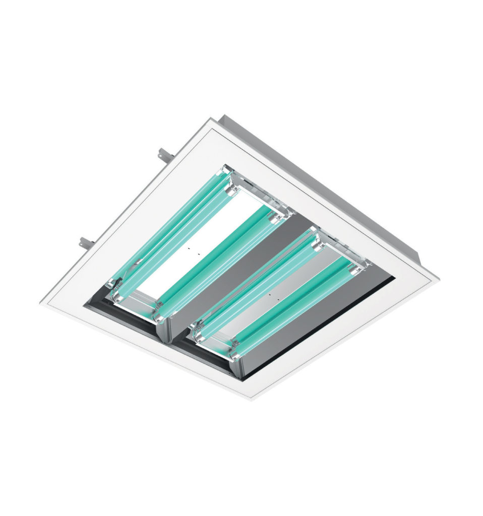 UV DIRECT 600X600 4X20W lamp
